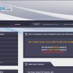 Ptp24.com – Kiếm tiền từ trang paid to promote thanh toán hàng ngày