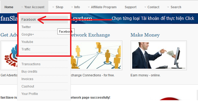 fanslave kiếm tiền trên mạng