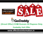 Cách mua tên miền ở Godaddy