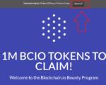 Nhận miễn phí coin BCIO sàn Blockchain.io đến hết tháng 7