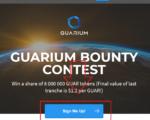 [Đã kết thúc] Còn 31 ngày nhận 1100 coin miễn phí trước ICO với Guarium